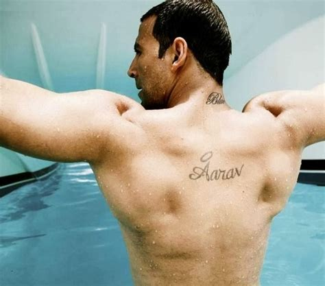 tattoo name sahil akshay kumar body workout bollywood actor pinterest