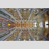 Gaudi Sagrada Familia Ceiling | 640 x 426 jpeg 164kB