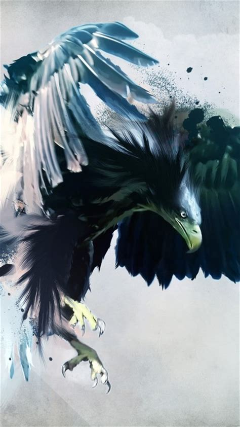 abstract eagle wallpaper artwork birds eagles wings wallpaper allwallpaper in