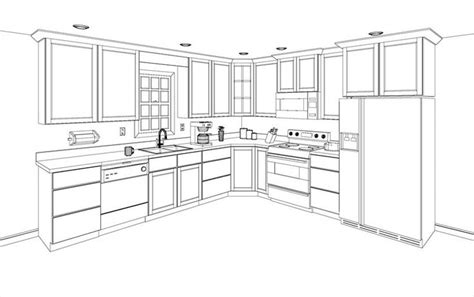 how to draw a kitchen floor plan free 3d kitchen design layout kitcad free 2d and 3d
