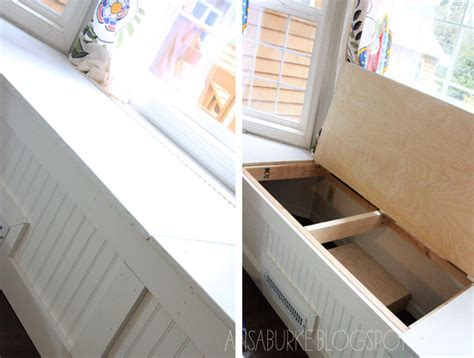 diy window bench seat with storage alisaburke diy window seat