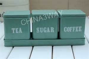 Enamel Kitchen Canisters lfgb metal sugar tea coffee canister buy coffee tea