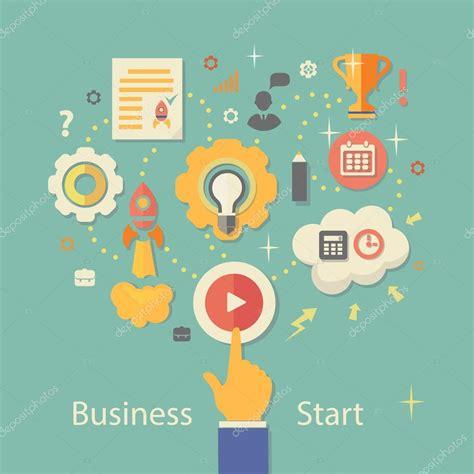 free illustration startup start up business start business startup vector illustration gears infographics