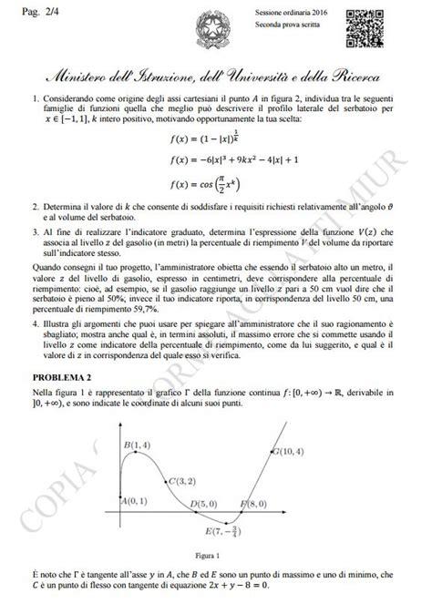 test ingresso matematica liceo scientifico maturit 224 2016 la soluzione compito di matematica wired