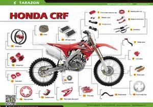 Honda 125 Dirt Bike Parts Motocross Mx Dirt Bike Road Parts For Honda Crf Cr 85