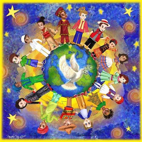 themes around love world peace frieda anderson