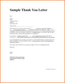 doc 585716 professional thank you letters professional