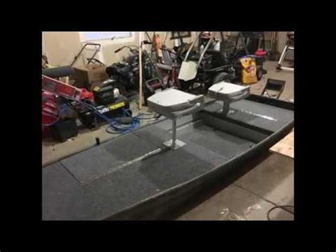 bass boat conversion 10ft jon boat to bass boat conversion youtube