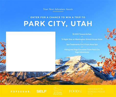 your next adventure awaits in park city ut utah giveaway and visa gift card