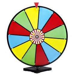 color spinner wheel 24 color erase spinning prize wheel new high quality