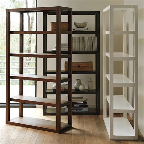 elm white bookcase elm parsons bookcase copy cat chic
