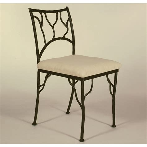 black wrought iron dining chair chair pads cushions