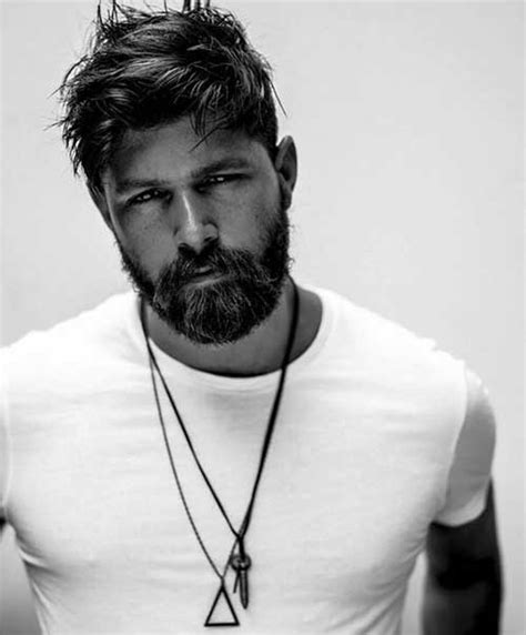 bearded mens hairstyles stylish bearded guys and cool hairstyles mens hairstyles