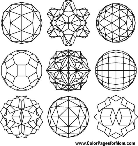 geometric shapes coloring pages online geometric shapes coloring page 89