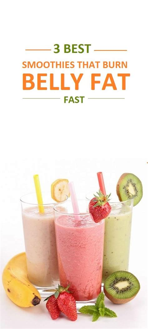Detox Smoothies To Lose Belly by 1000 Ideas About Belly Burner On
