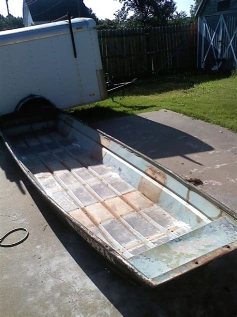 flat bottom boat mods anyone ever restore modify a flat bottom jon boat ford