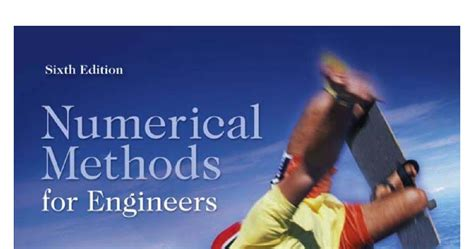 numerical methods for engineers books numerical methods for engineers steven chapra and raymond