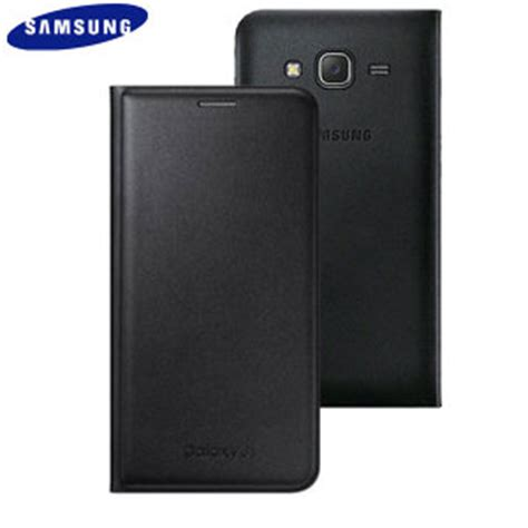 Flip Cover S View Samsung Galaxy J5 2015 J500 Auto Lock Flipcov official samsung galaxy j5 2015 flip wallet cover black