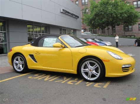 yellow porsche boxster 2010 speed yellow porsche boxster 30432454 gtcarlot com