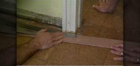 Install Exterior Door Jamb How To Cut A Door Jamb To Install Flooring 171 Construction Repair