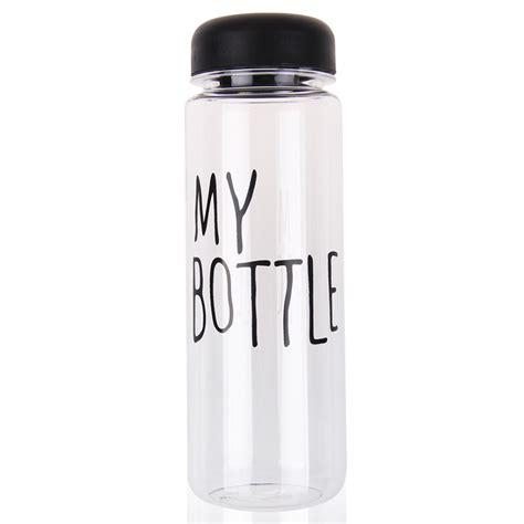 My Bottle Pouch Kanvas Putih botol minum my bottle infused water bening my bottle