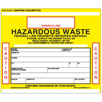 Hazardous Waste Label Templates Afrogala Free Hazardous Waste Label Template