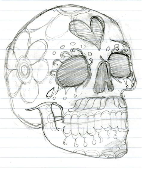 Day Of The Dead Drawings Easy by Day Of The Dead Skeleton Drawings Www Imgkid The