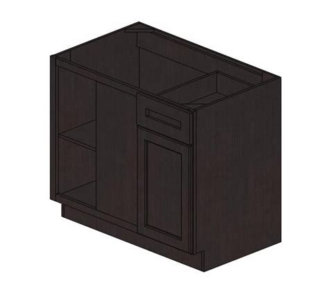 Blind Base Cabinet by Bblc42 45 39 Quot W Pepper Shaker Blind Base Corner Cabinet