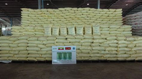 Donate A Tonne To Global Cool by Gov T Mrf Donate 300 Tonnes Of Rice To Sri Lanka Flood