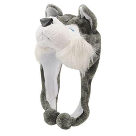 Animal Earcap voodoo dolls unisex animal design hat ear flaps wolf winter accessories