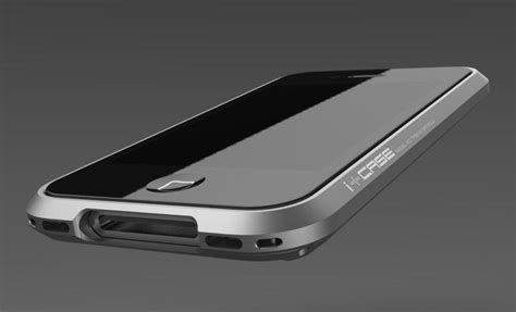 Apple Iphone 4 4s Hybrid Metal Aluminium Bumper Leather Back Casing 1 the i aluminum bumper adds a touch of class to your