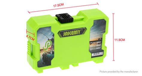 Jakemy Fishing Accessories Tool Kit With Storage Box F 1z725g Green 25 00 jakemy pj 5002 fishing accessories tool kit w storage box authentic at fasttech