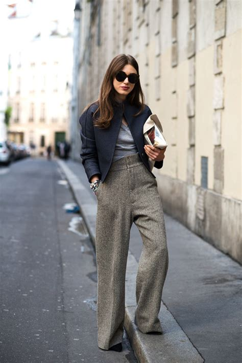 pictures of womenspant styles style tips how to wear wide leg trousers wardrobelooks com