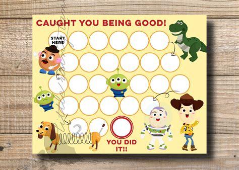 printable reward charts toy story kids reward chart toy story reward chart printable