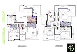 two story house blueprints modal title