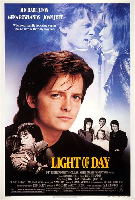 light of day 1987 light of day extra large movie poster image imp awards