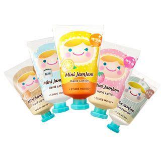 korean cosmetics etude house mini jamjam lotion title