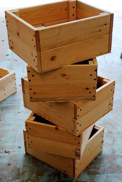 make all from wood best 25 pallet boxes ideas on pinterest diy wood box
