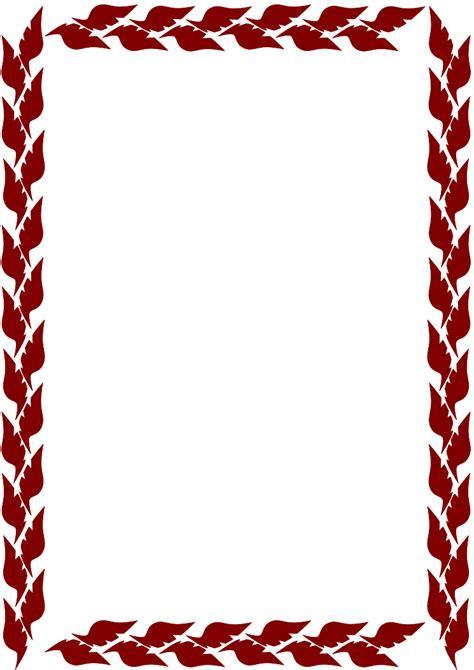 design html border autumn borders clip art free clipart best