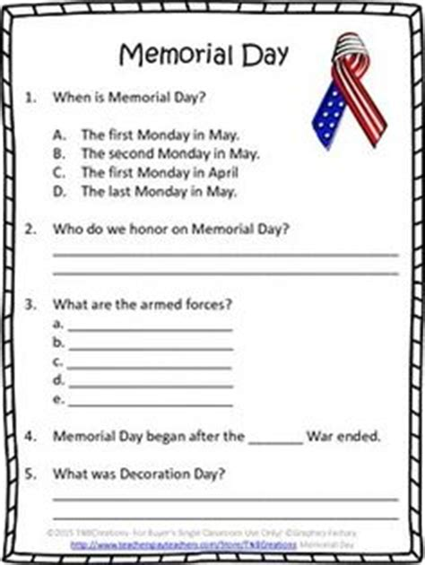 memorial day printable activity sheets 1000 images about activities for memorial day on