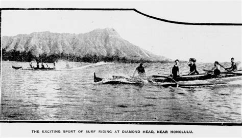 canoes in the 1800s development of hotels in waikiki hdnp