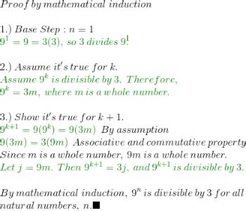principle of mathematical induction divisibility define induction in math 28 images proving divisibility mathematical induction exles lesson