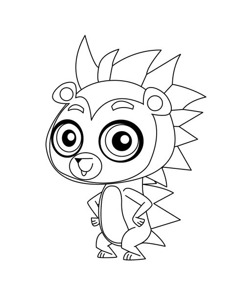 littlest pet shop littlestpetshop coloring pages dog