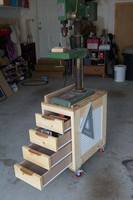 drill press storage cabinet drills drawers and band saws on