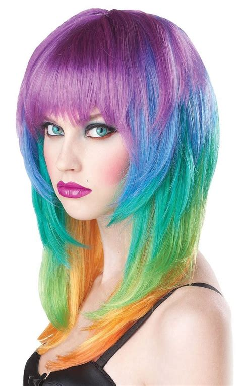 Multi Colored Hairstyles by Popular Multi Colored Hairstyles Buy Cheap Multi Colored