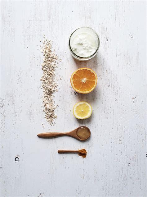 diy orange mask diy orange turmeric revitalizing mask salad days