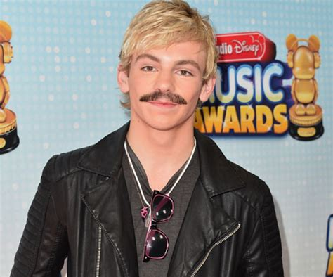 does ross lynch dye his hair your favorite stars get mustache makeovers j 14