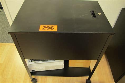metal printer stand cabinet rolling flip top metal storage printer stand black metal