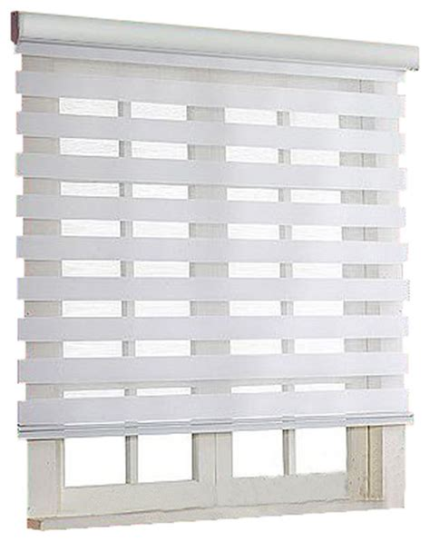 roller zebra blind light filtering sheer shade modern