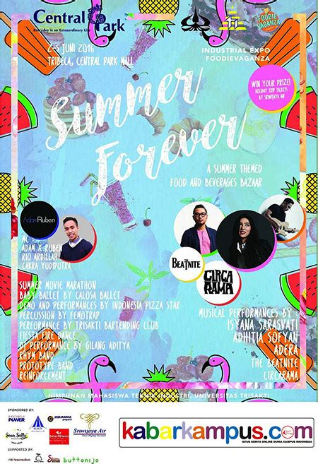 Bazaar 5 11 Juni Di Central Park Mall industrial expo foodievaganza quot summer forever quot